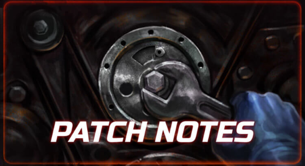 Heavy Metal Machines Patch Notes Header