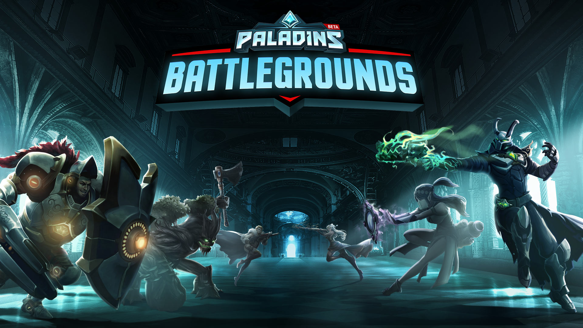 Paladins Battlegrounds Art