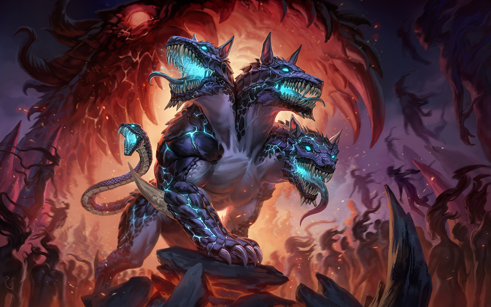 SMITE Cerberus - Card Art