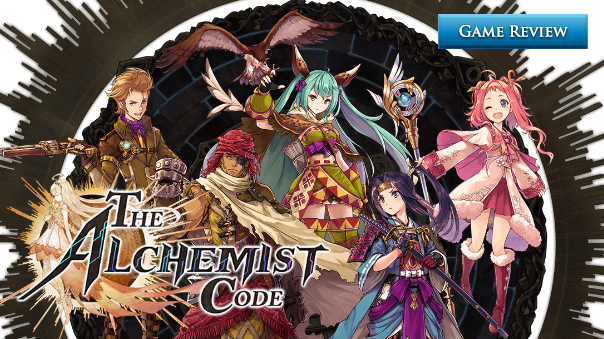 The Alchemist Code Review Header