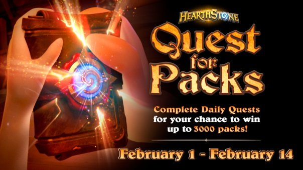 Hearthstone - Quest for the Packs Sweepstakes - Image