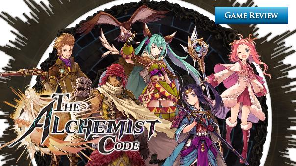 The Alchemist Code Review Header