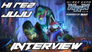 Colt sits down to interview HiRezJuju about TDM and Moji in Paladins!