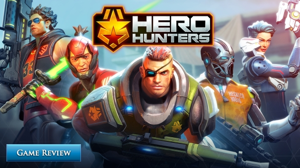 Hero Hunters Game Review Header