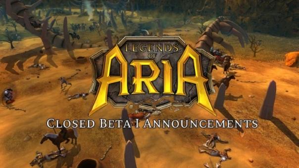 Legends of Aria - Closed Beta Announcements - Image
