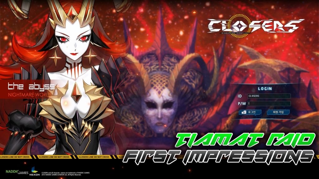 Jason takes a look at the new Tiamat raid in Closers!