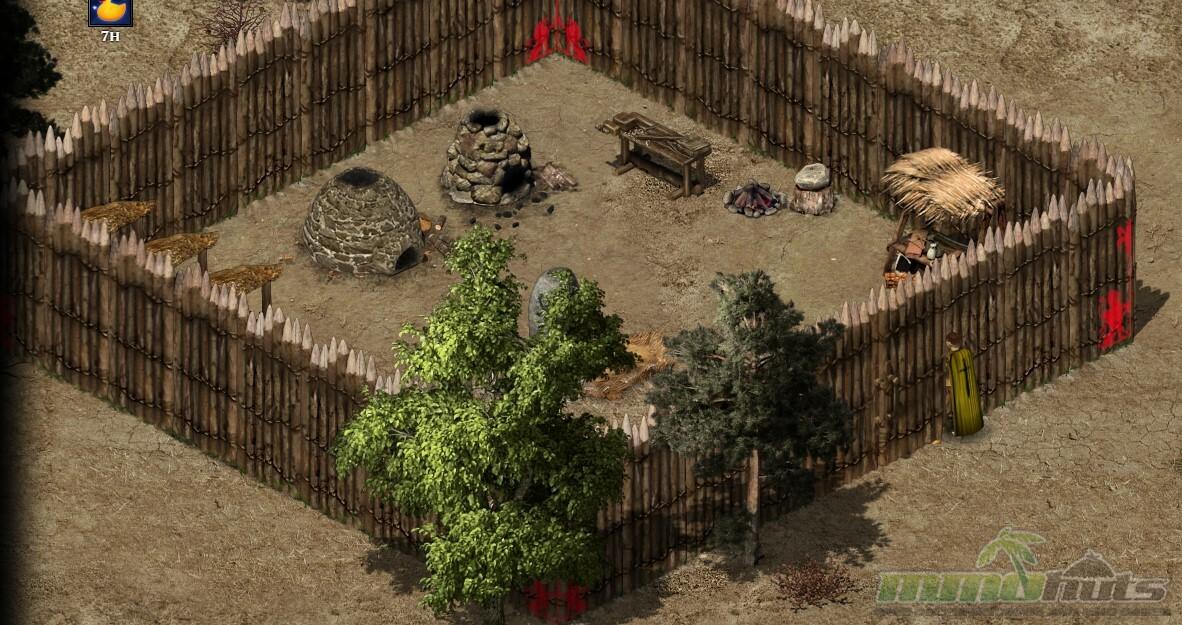 Wild Terra tutorialFort