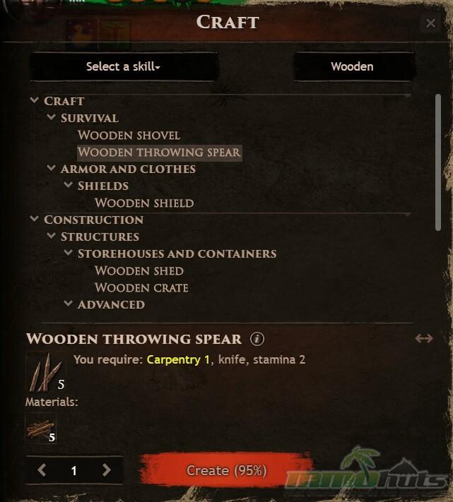Wild Terra Crafting