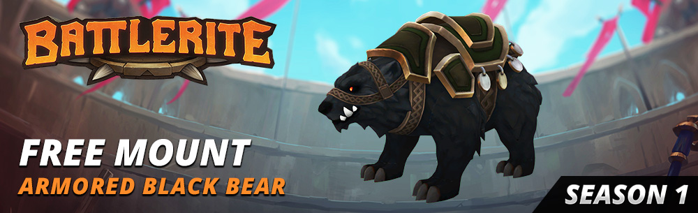 Battlerite Armored Bear Giveaway Wide Banner
