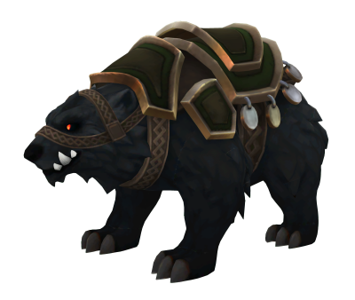 Battlerite Armored Black Bear Model