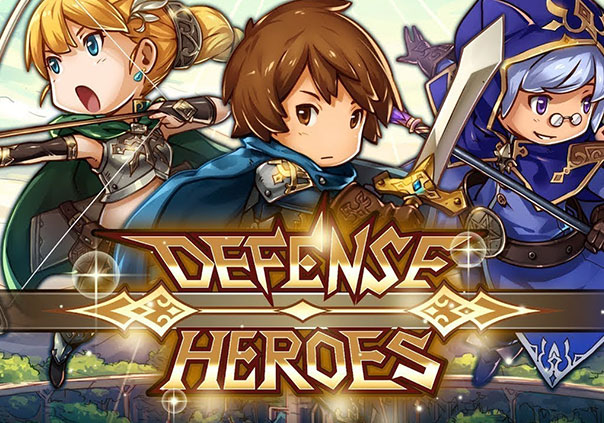 Crazy Defense Heroes Game Image