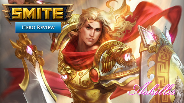 SMITE Achilles Review Header Image