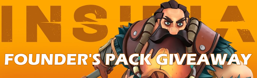 Insidia Founders Pack Giveaway Wide Banner