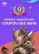 Webzen 9th Giveaway Column
