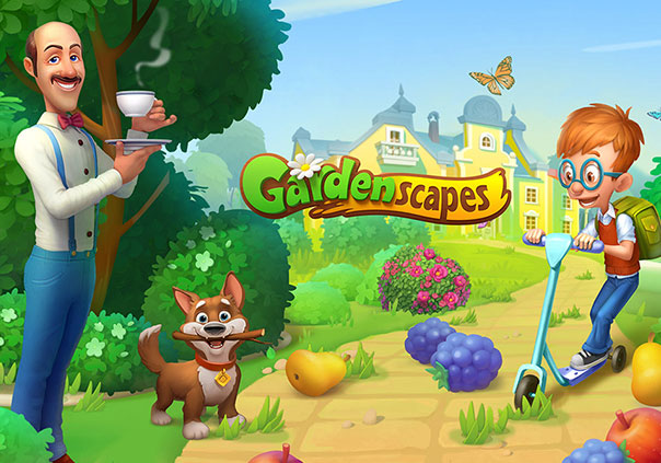 Gardenscapes Game Profile Banner