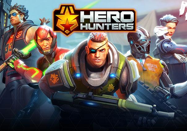 Hero Hunters Game Profile Banner