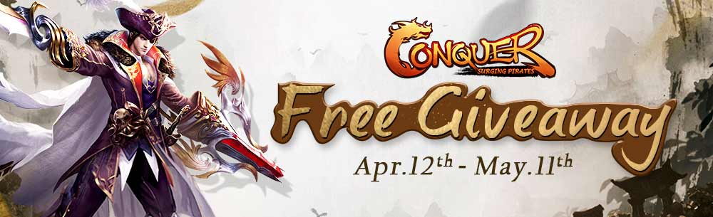 Conquer Online Pirates Giveaway Wide Banner