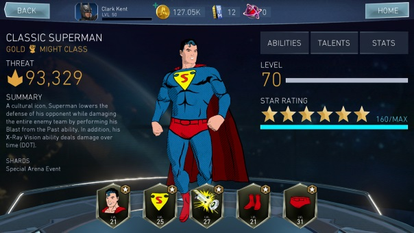 Injustice 2 Mobile - Classic Superman
