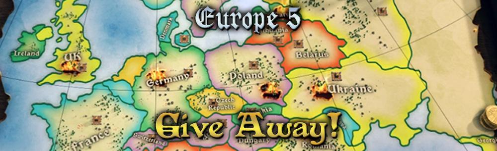 Stronghold Kingdoms Europe 5 Giveaway Wide Banner