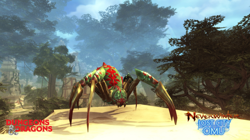 Tropic-Colored Spider (Neverwinter)
