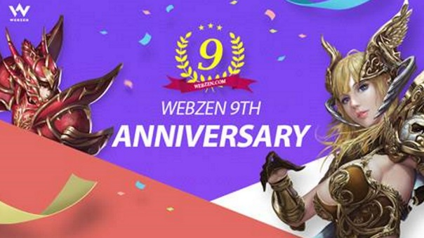 Webzen - Ninth Year Anniversary - Image