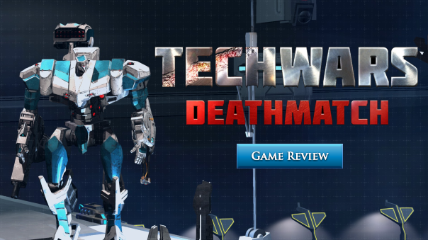Techwars Deathmatch Review Header