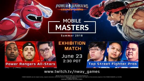 Mobile Masters - Power Rangers v Street Fighter