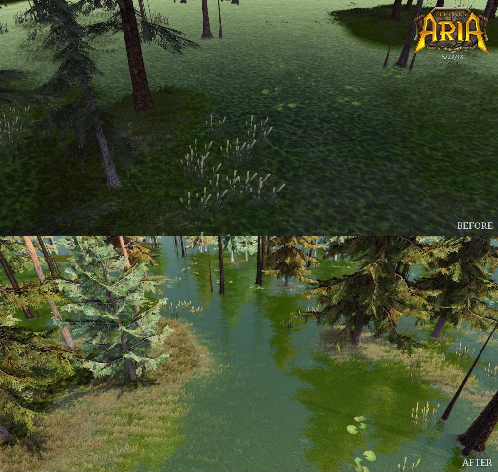 Legends of Aria Swamp Update Reveal