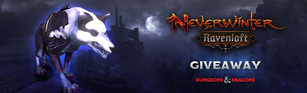 Neverwinter Ravenloft Darkfish Fey Wolf Giveaway Wide Banner