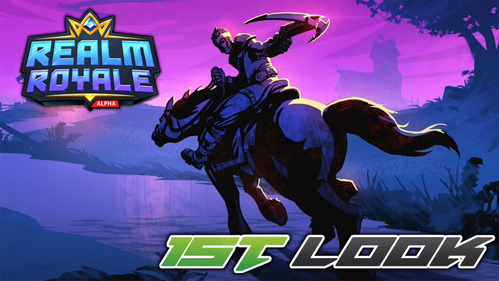 Colt takes a first look at Realm Royale!