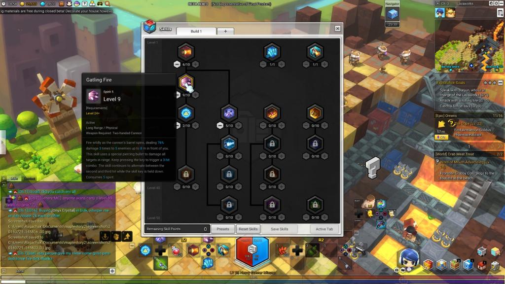 MapleStory 2 Closed Beta Impressions