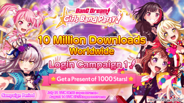 Bang Dream Girls Party - 10 Million -image