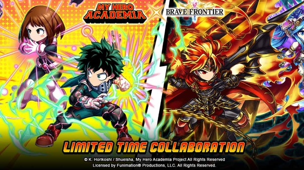 Brave Frontier - MHA Crossover - image