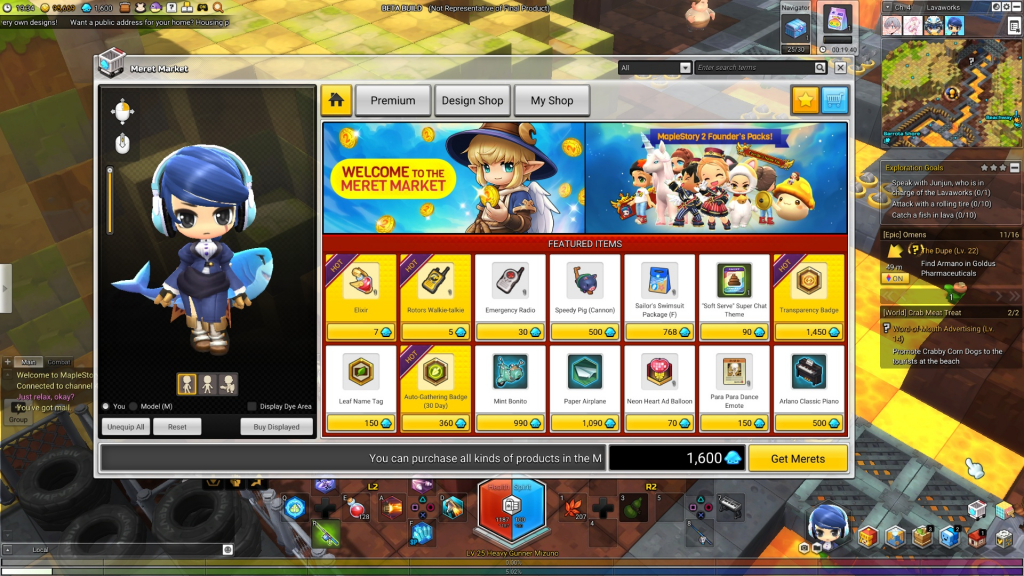 MapleStory 2 Closed Beta Impressions