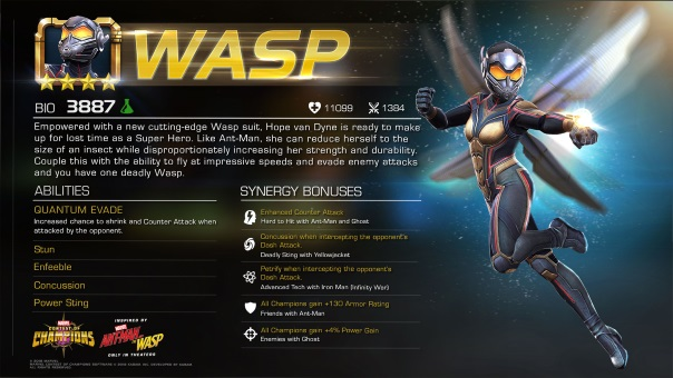Marvel Contest of Champions News - Wasp -image