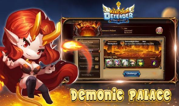 kingdom defender demonic palace