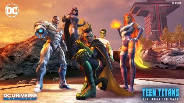 DCUO - Teen Titans Judas Contract - image