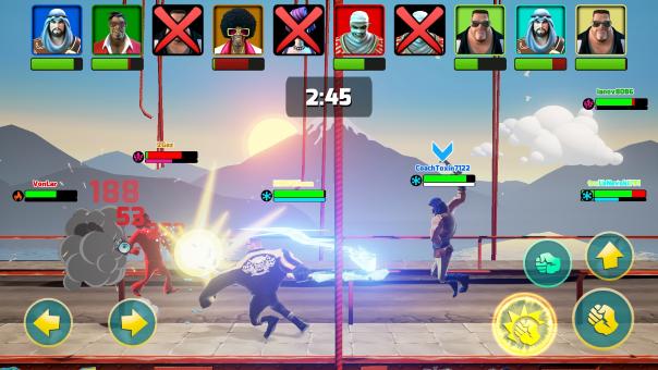 Mayhem Combat Launch -image