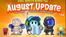 -August Update! - Community Requested Features _ Pixel Worlds -thumbnail
