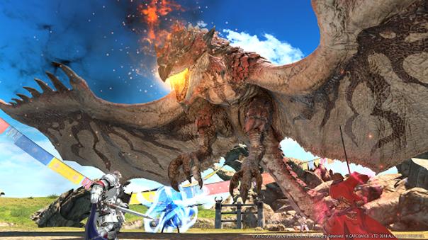 FFXIV x Monster Hunter World -image