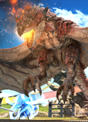 FFXIV x Monster Hunter World -thumbnail