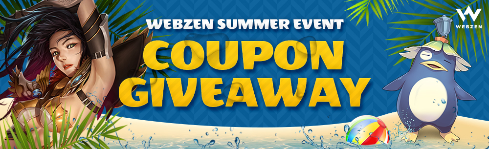 Webzen Summer Giveaway -Wide Banner