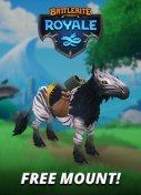 Battlerite Royale - Zebra Mount Giveaway - MMOHuts Thumbnail