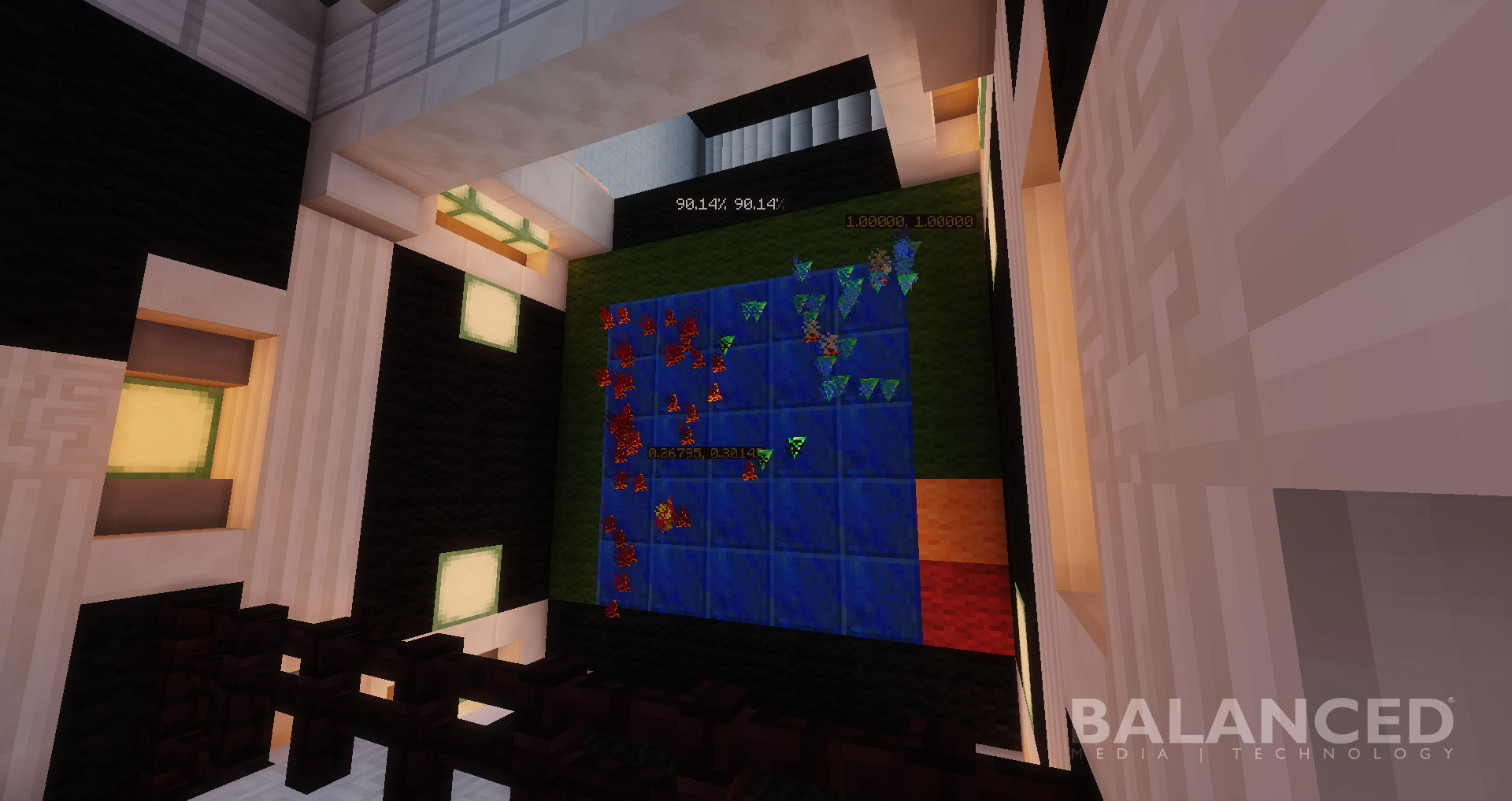 MineCraft Cell Wars Screenshot