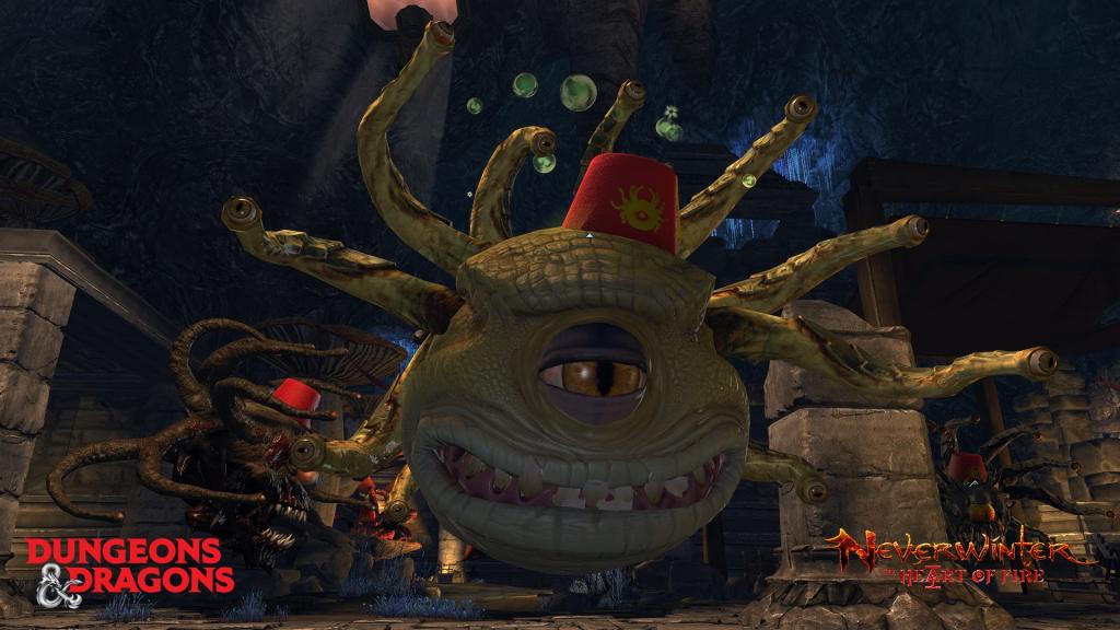 Neverwinter Heart of Fire Beholder Screenshot