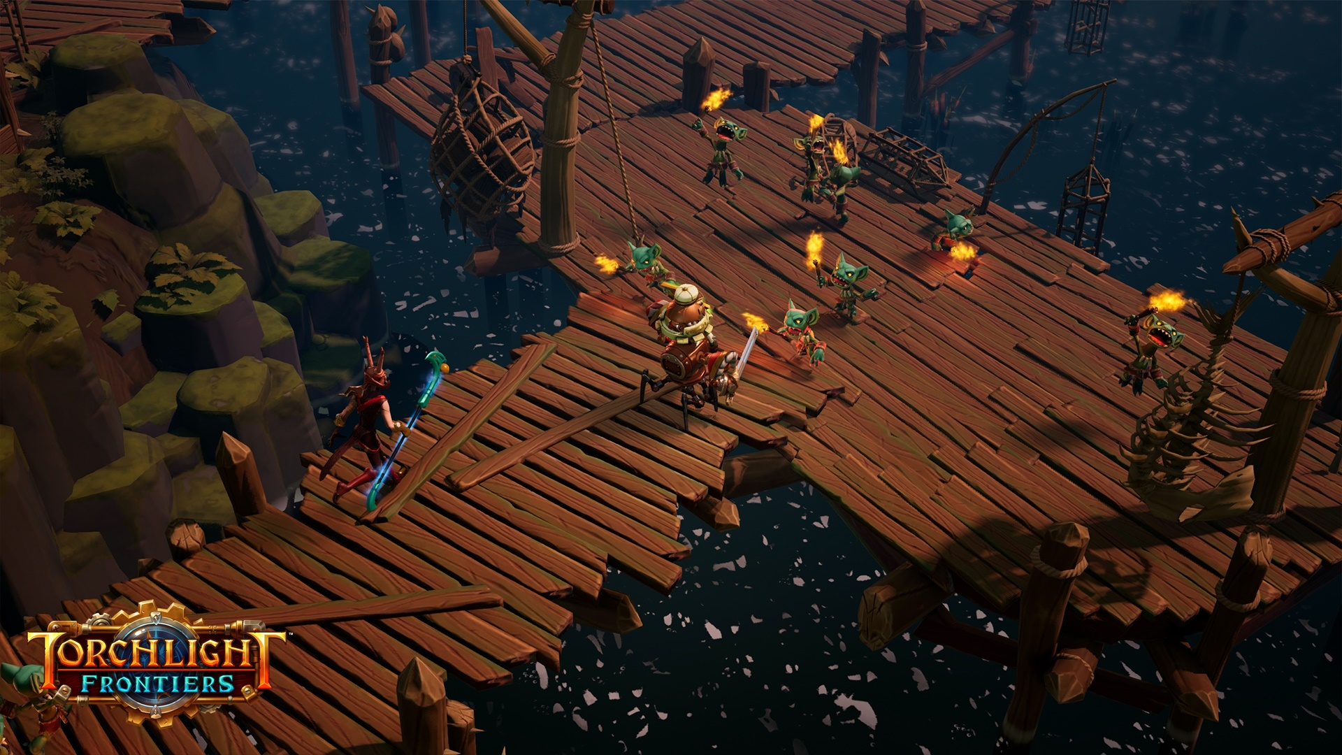 Torchlight Frontiers Forged Gameplay Screenshot