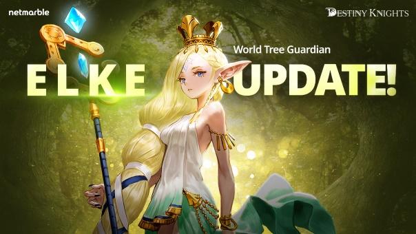 Destiny Knights Elke Update Header