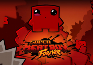 Super Meat Boy Forever Game Profile Image