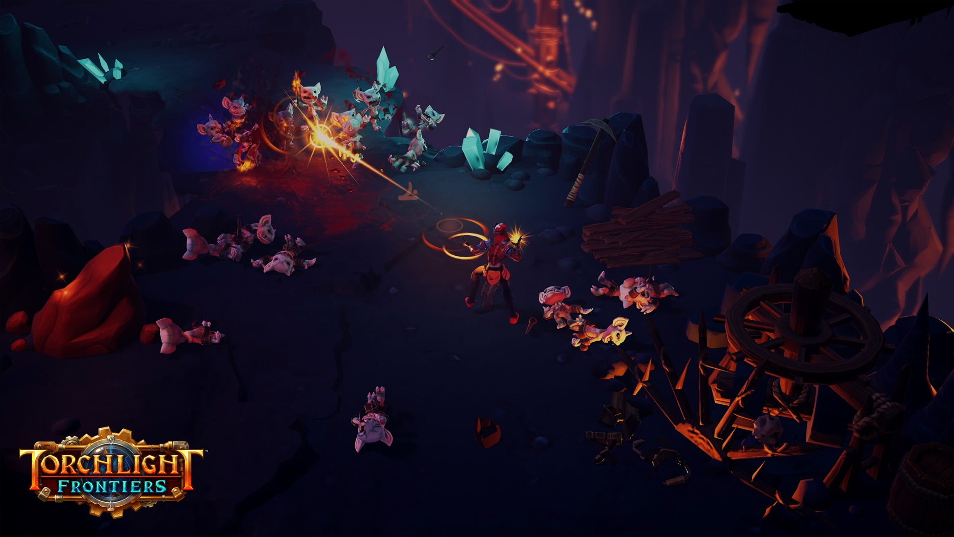 Torchlight Frontiers Dungeon Gameplay Screenshot