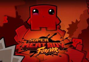 Super Meat Boy Forever Game Profile Image
